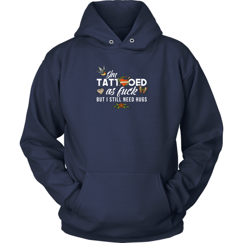 Image of Tatooed as Fuck Women's Hoodie