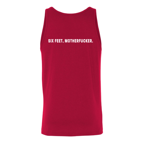 Image of Six feet, Motherfucker Unisex Tank