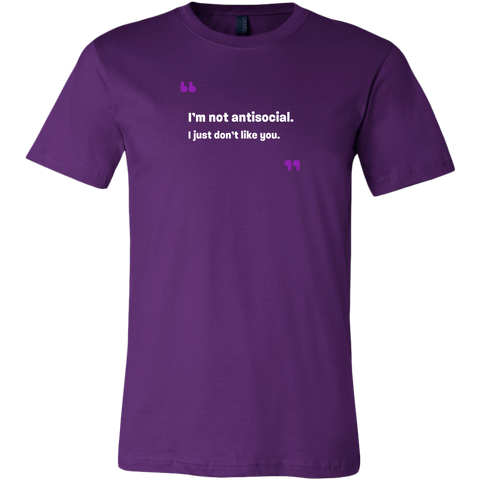 I'm not antisocial Tee