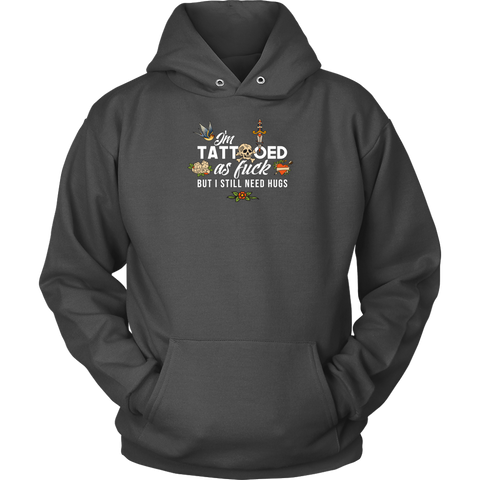 Tatooed as Fuck Men's Hoodie
