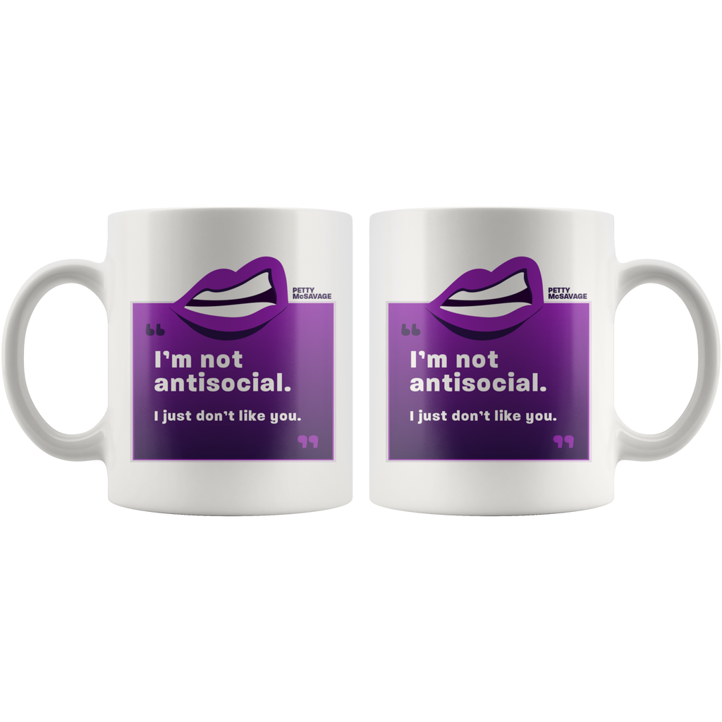 I'm not antisocial Mug