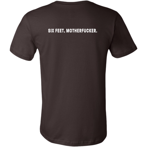 Image of Six feet, Motherfucker Men's Double-Sided T-Shirt