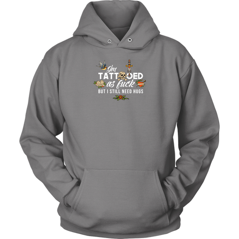 Image of Tatooed as Fuck Men's Hoodie
