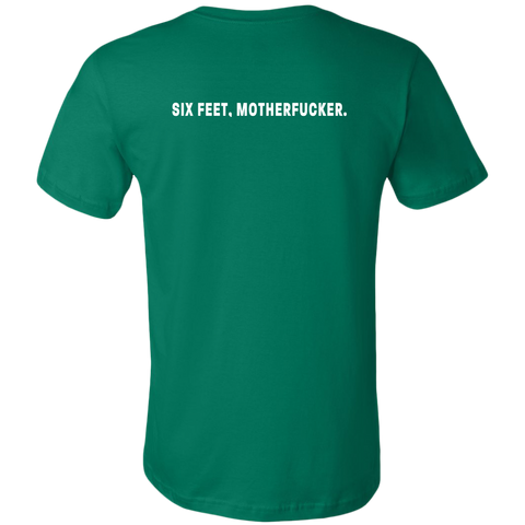Image of Six feet, Motherfucker Men's T-Shirt