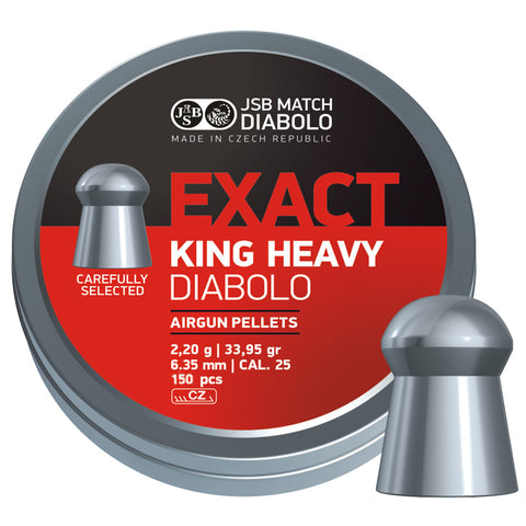 exact king heavy 6.35mm