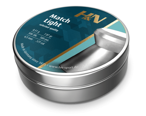 H&N Match Light 4.5mm - AIRGUN SUPPLIES