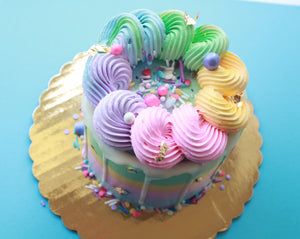 Load image into Gallery viewer, Dulceology Rainbow Cake - Dulceology
