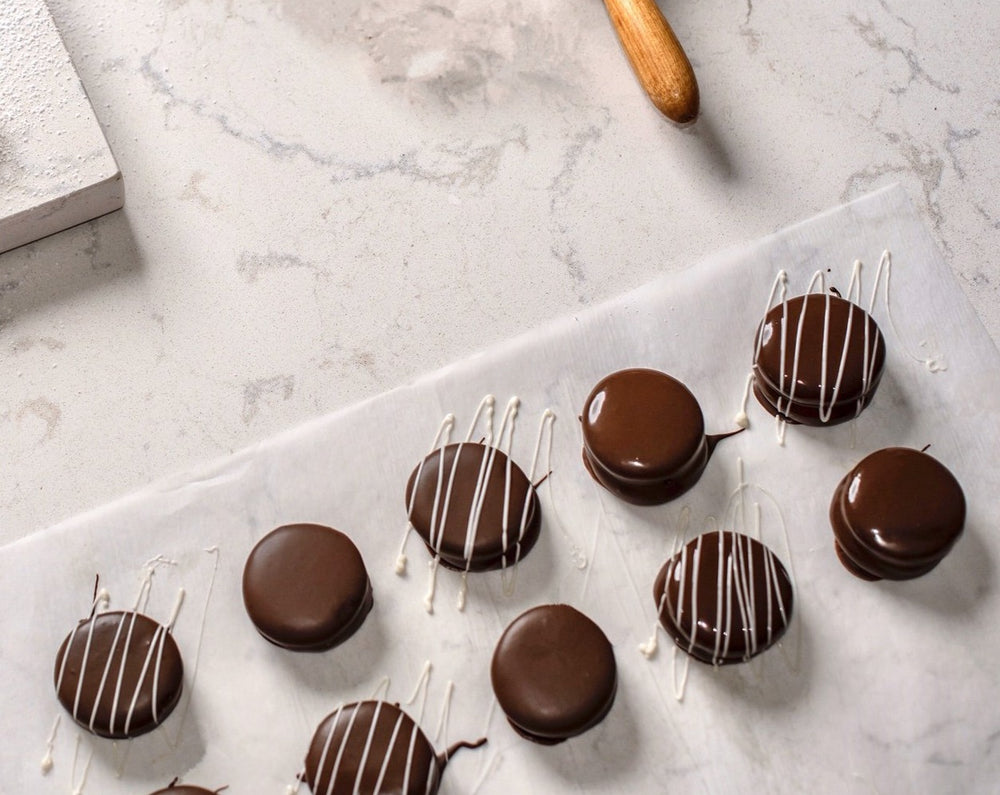 15 Milk Chocolate Alfajores (Baltimore Pickup) - Dulceology