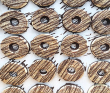 Load image into Gallery viewer, Coco Hoops 12 pc. (Gluten-Free) - Dulceology