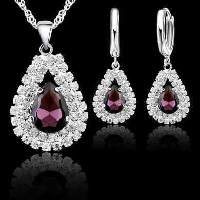 Elegant 925 Sterling Silver Jewelry Sets - Eve Merch