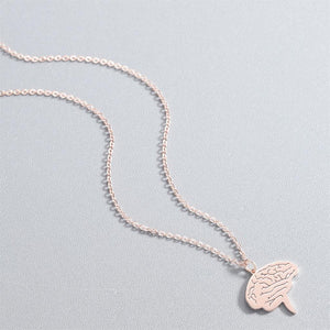 2019 Brain Gold Necklace Jewelry For Doctors - Eve Merch