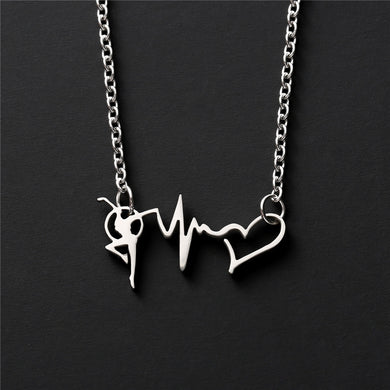 Dancing Heart Beats Necklace - Eve Merch