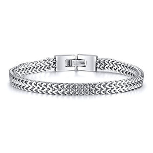 Stylish Stainless Steel Chain Bracelet - Eve Merch