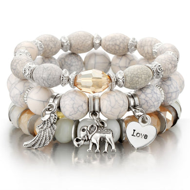 Fashion Boho Bracelets & Bangles set - Eve Merch