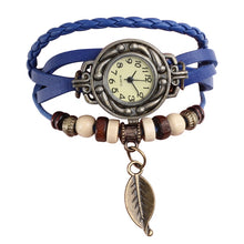 Load image into Gallery viewer, Genuine Leather Vintage Quartz Dress Watch - Eve Merch