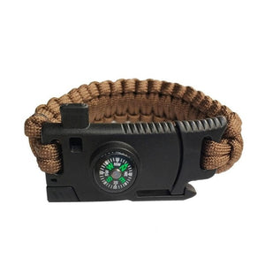 Military style Emergency Braided Survival Bracelet for Men Women - Eve Merch