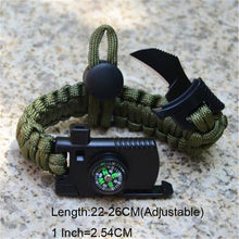 Load image into Gallery viewer, Military style Emergency Braided Survival Bracelet for Men Women - Eve Merch
