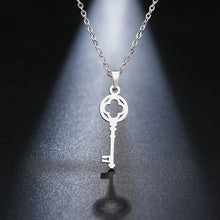 Load image into Gallery viewer, Stainless Steel Key Pendant Necklace - Eve Merch