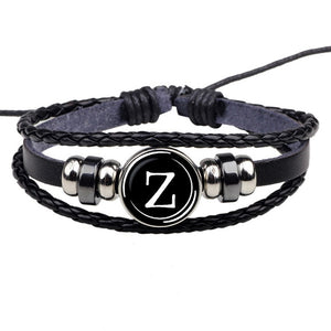 26 Letters Rope Bracelet - Eve Merch
