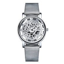 Load image into Gallery viewer, Skeleton Wrist Watch UNISEX with Mesh Strap - Eve Merch