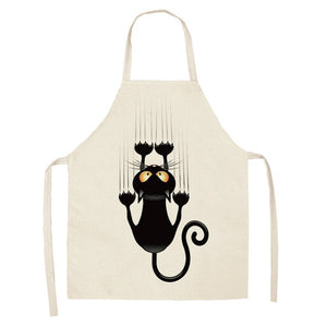 1Pc Printed Kitchen Apron Funny Animal design - Eve Merch