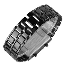 Load image into Gallery viewer, UNISEX Full Metal Digital Lava Wrist Watch - Eve Merch