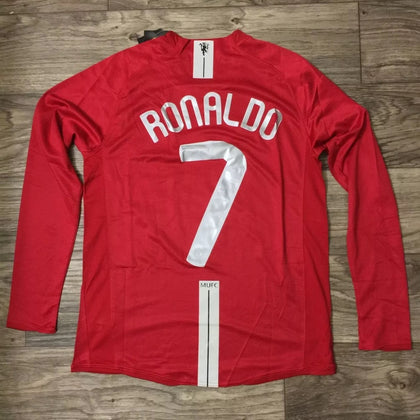 C.RONALDO MANCHESTER UNITED CHAMPIONS LEAGUE FINAL JERSEY
