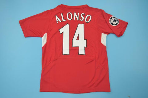 XABI ALONSO 14 LIVERPOOL CHAMPIONS LEAGUE FINAL EDITION JERSEY