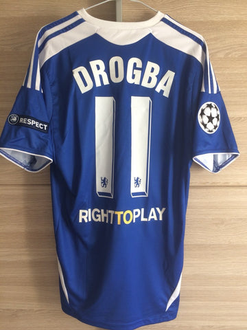 DROGBA 2012 CHAMPIONS LEAGUE FINAL JERSEY