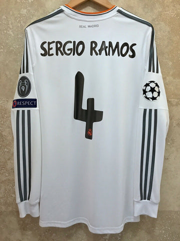 SERGIO RAMOS | CHAMPIONS LEAGUE FINAL 2014 EDITION JERSEY | REAL MADRID