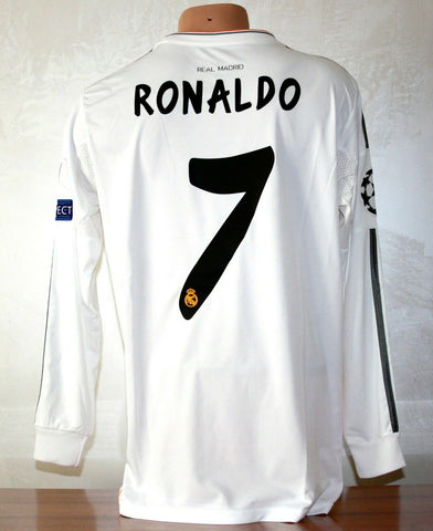 C.RONALDO 7 | REAL MADRID | UEFA CHAMPIONS LEAGUE 2014 FINAL EDITION JERSEY