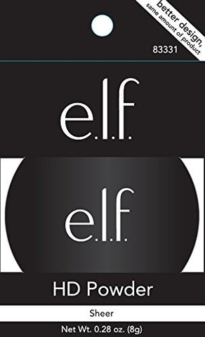e.l.f. High Definition Loose Face Powder for a Flawless Soft Focus Finish to Your Makeup, Lightweight, 0.28 Ounces 1 Pack