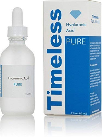 Timeless Skin Care Hyaluronic Acid Serum 2 oz 2 ounce