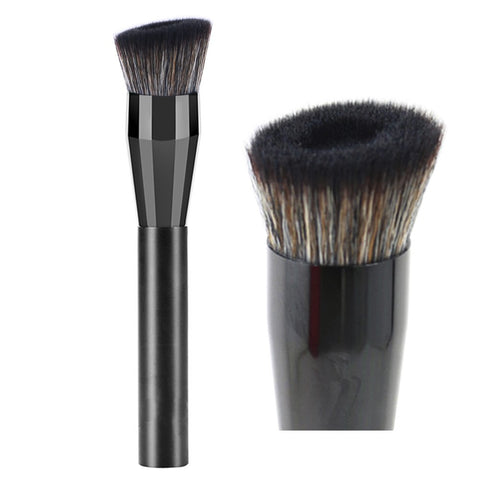 vela.yue Pro Liquid Foundation Brush for Natural Flawless Look - Angled Perfecting Face Brush 217# Angled Hole