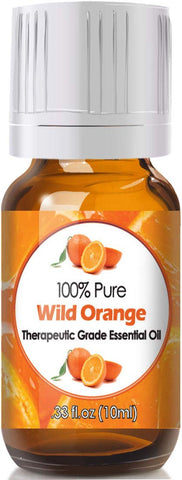 Wild Orange Essential Oil for Diffuser & Reed Diffusers (100% Pure Essential Oil) 10ml Wild Orange