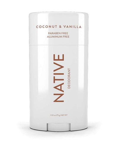 Native Deodorant - Natural Deodorant - Vegan, Gluten Free, Cruelty Free - Free of Aluminum, Parabens & Sulfates - Born in the USA - Coconut & Vanilla 2. Coconut & Vanilla (Most Popular)