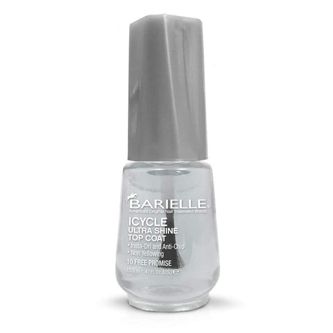 Barielle ICYCLE Ultra Shine Top Coat - Quick Dry Top Coat Nail Polish, Salon Quality Top Coat