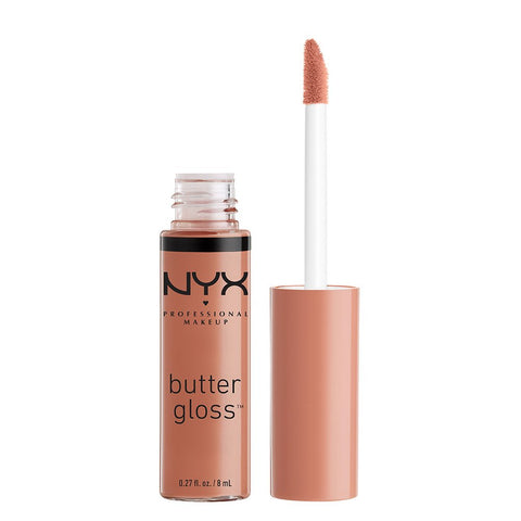 NYX Professional Makeup Butter Gloss, Madeleine, 0.27 Ounce