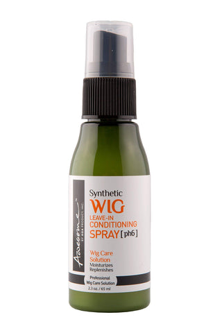 Awesome Synthetic Wig Leave-in Conditioning Spray [pH6] - Top Professional Wig Care Solution, Best Wig Detangle Spray, Moisturizes & Replenishes Synthetic Wigs, Easy Combing, Coconut Oil, 2.3 Ounce