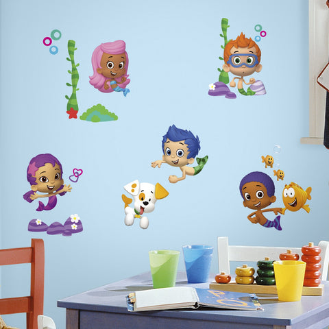 RoomMates Bubble Guppies Peel And Stick Wall Decals
