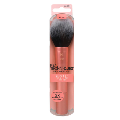 Real Techniques Powder & Bronzer Brush Helps Build Smooth Even Coverage