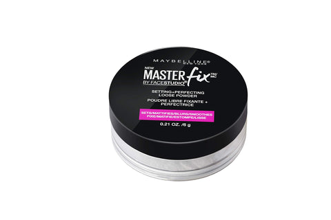Maybelline New York Facestudio Master Fix Setting + Perfecting Loose Powder, Translucent, 0.21 oz. 1 Count
