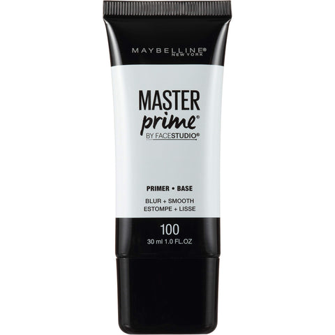 Maybelline New York Face Studio Master Prime Primer, Blur + Smooth, 1 Fluid Ounce 1 Count