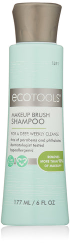 Ecotools Makeup Brush Cleansing Shampoo 6 Ounce Shampoo, 6 Ounce
