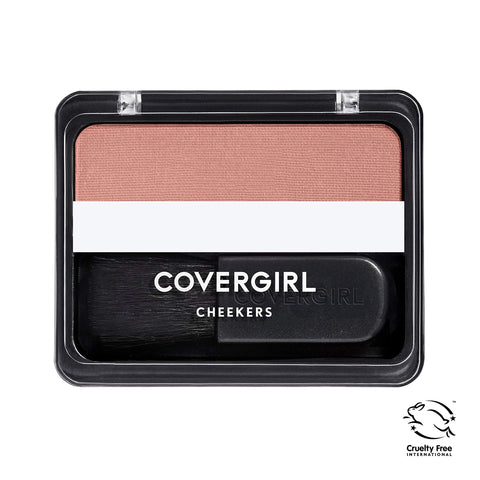 COVERGIRL Cheekers Blendable Powder Blush Iced Cappuccino, .12 oz (packaging may vary) Iced  Cappuccino 1 Count