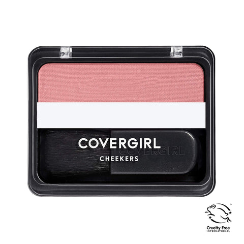 COVERGIRL Cheekers Blendable Powder Blush Rose Silk, .12 oz (packaging may vary) 1 Count
