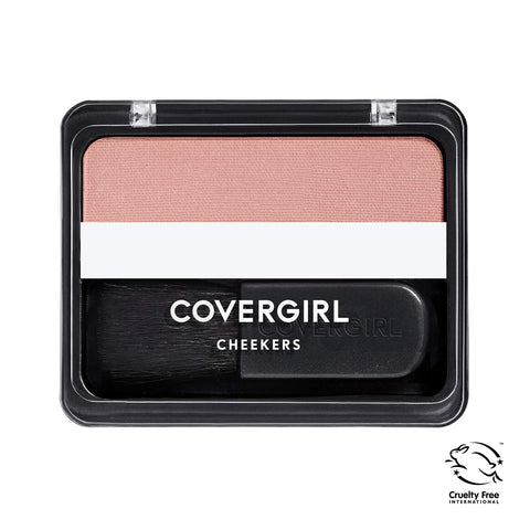 COVERGIRL Cheekers Blendable Powder Blush, Brick Rose 180, 0.12 ounce (Packaging May Vary) 1 Count