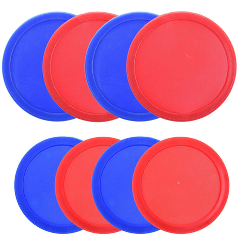 COSMOS Pack of 8 Home Air Hockey Pucks for Game Table