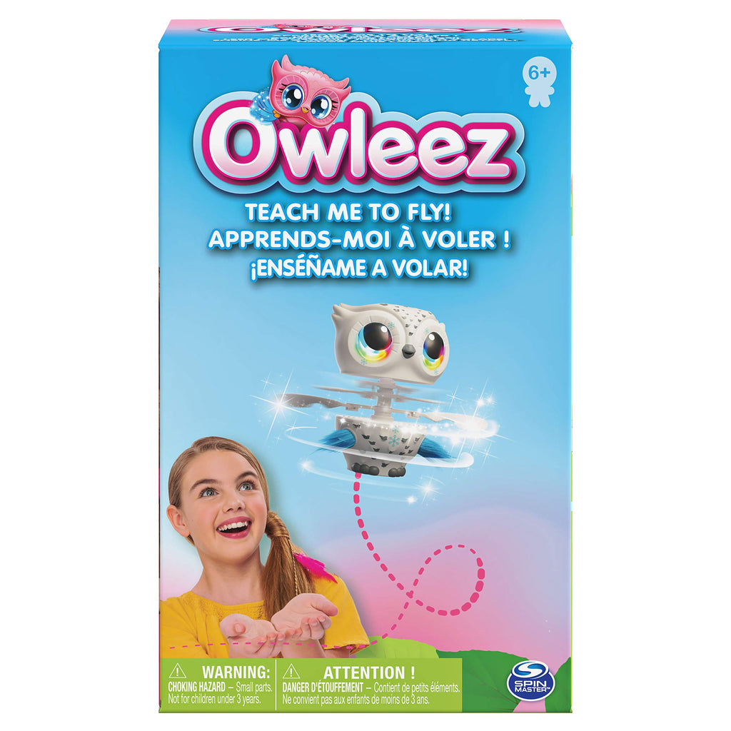 6046148 Flying Baby Owl Interactive Toy With Lights And Sounds White For Kids A