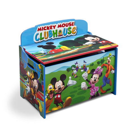 Delta Children Deluxe Toy Box, Disney Mickey Mouse Character